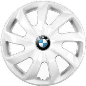 """Enjoliveurs pour BMW 15"""", STIG BLANCS LAQUÉS 4 pcs"""