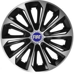 "Enjoliveurs pour FIAT BLUE 16"", STRONG DUOCOLOR 4 pcs"