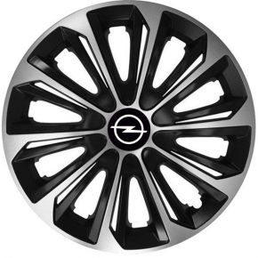 "Enjoliveurs pour OPEL 15"", STRONG DUOCOLOR 4 pcs"