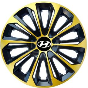 "Enjoliveurs pour HYUNDAI 15"", STRONG EXTRA or 4pcs"