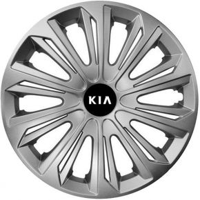 "Enjoliveurs pour KIA 16"", STRONG GRIS 4 pcs"