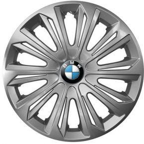 """Enjoliveurs pour BMW 15"""", STRONG GRIS LAQUÉS 4 pcs"""