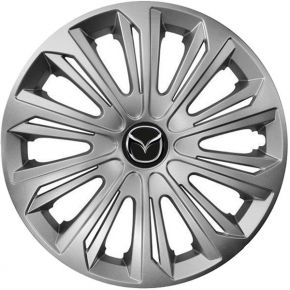 "Enjoliveurs pour MAZDA 15"", STRONG GRIS 4 pcs"