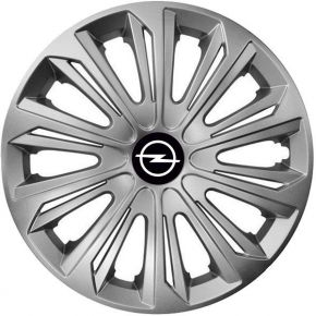 "Enjoliveurs pour OPEL 15"", STRONG GRIS 4 pcs"