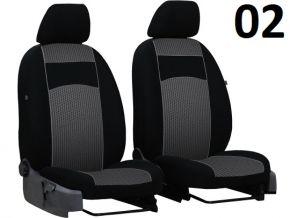 Housse de siège de voiture sur mesure Vip MERCEDES VITO W638 1+1 (1996-2003)