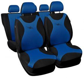 Housse de siège universelle TURBO bleu
