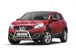 Cadres avant Steeler pour Nissan Qashqai 2010-2013 Modèle S