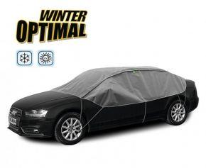 Toile de protection WINTER OPTIMAL pour les verres et toit de voiture Lancia Lybra sedan 280-310 cm