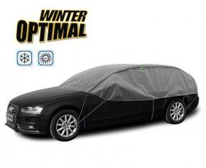 Toile de protection WINTER OPTIMAL pour les verres et toit de voiture Seat Toledo od 2004 295-320 cm